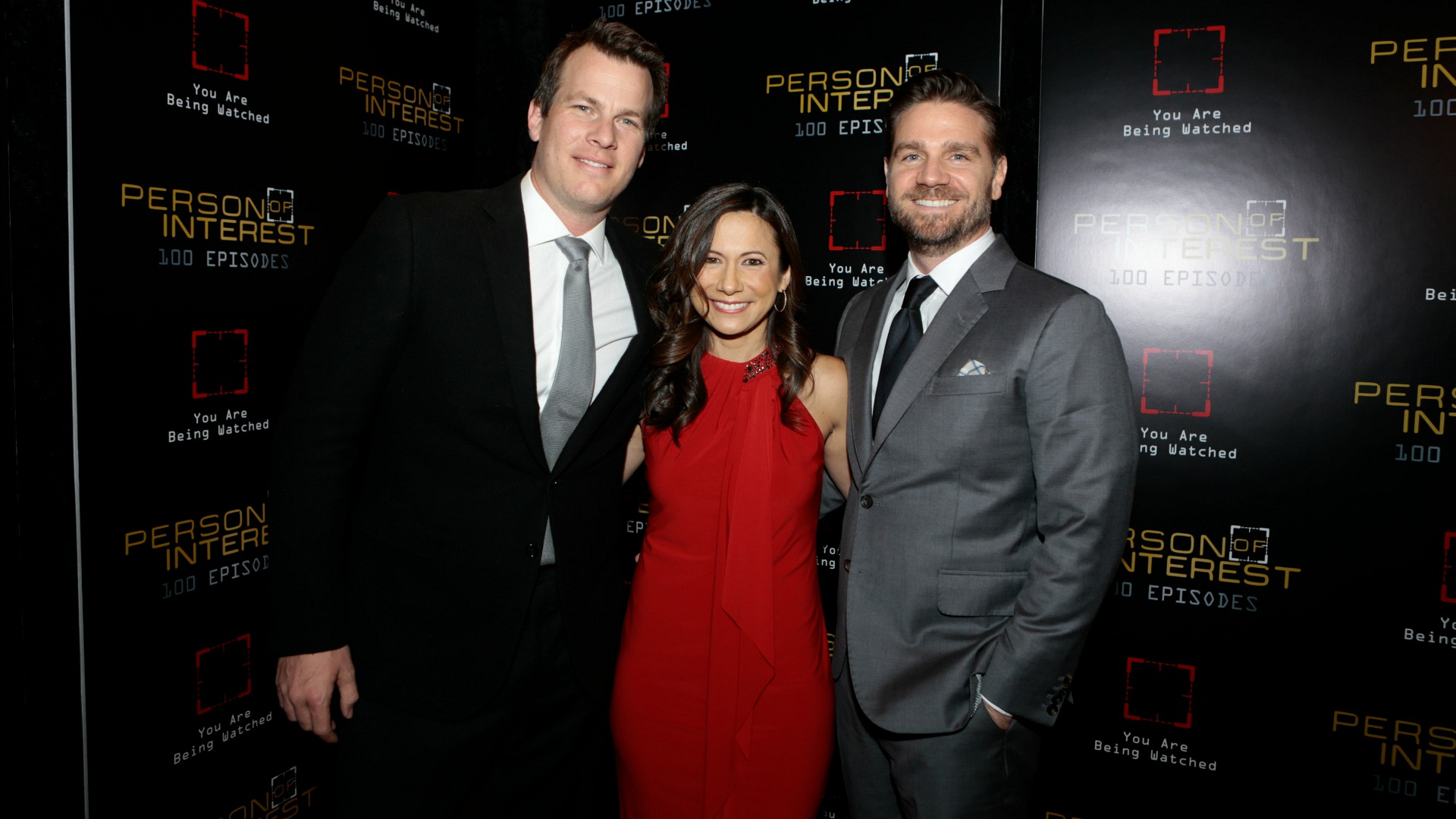 Series creator Jonathan Nolan and Executive Producers Denise Thé and Greg Plageman looked dashing.