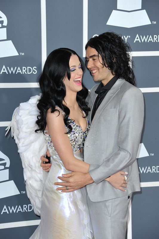(2011) It's easy to see that Katy Perry and then-husband Russell Brand had fireworks here.