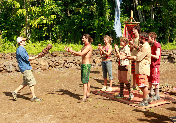 The Savaii Tribe Wins Immunity and Reward