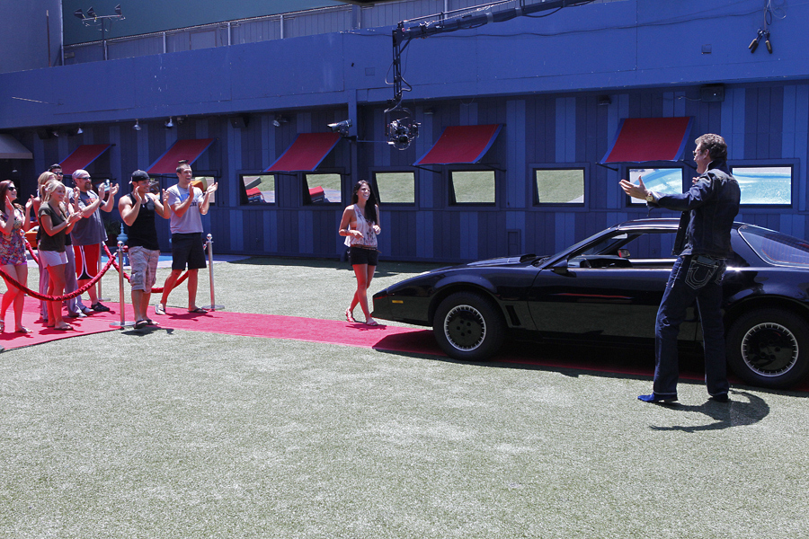 The Hoff surprises the Houseguests!