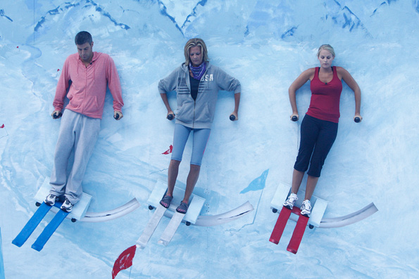 "HouseGuests Compete in HoH Competition ""Big Brother Slalom"""
