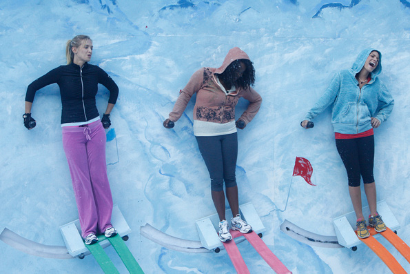 """HouseGuests Compete in HoH Competition """"Big Brother Slalom"""""""