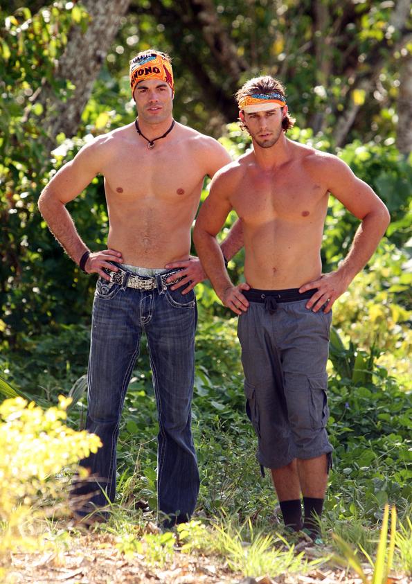 Shirtless Men