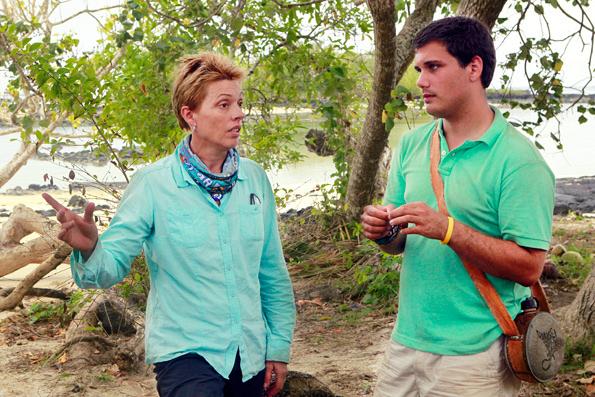 Nina and Colton