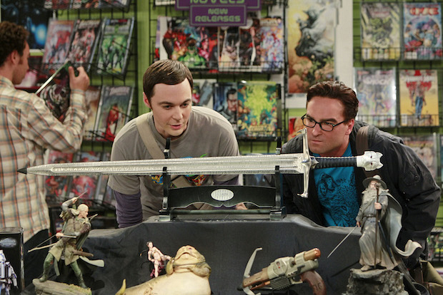 Question: What sword do Leonard and Sheldon decide to buy to start their fantasy sword collection?