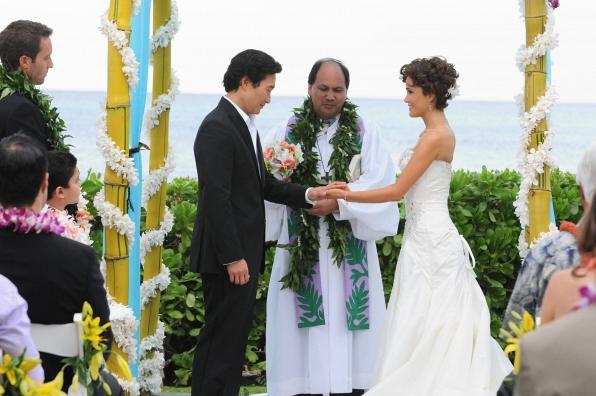 Chin Ho Kelly and Malia (Hawaii Five-O)