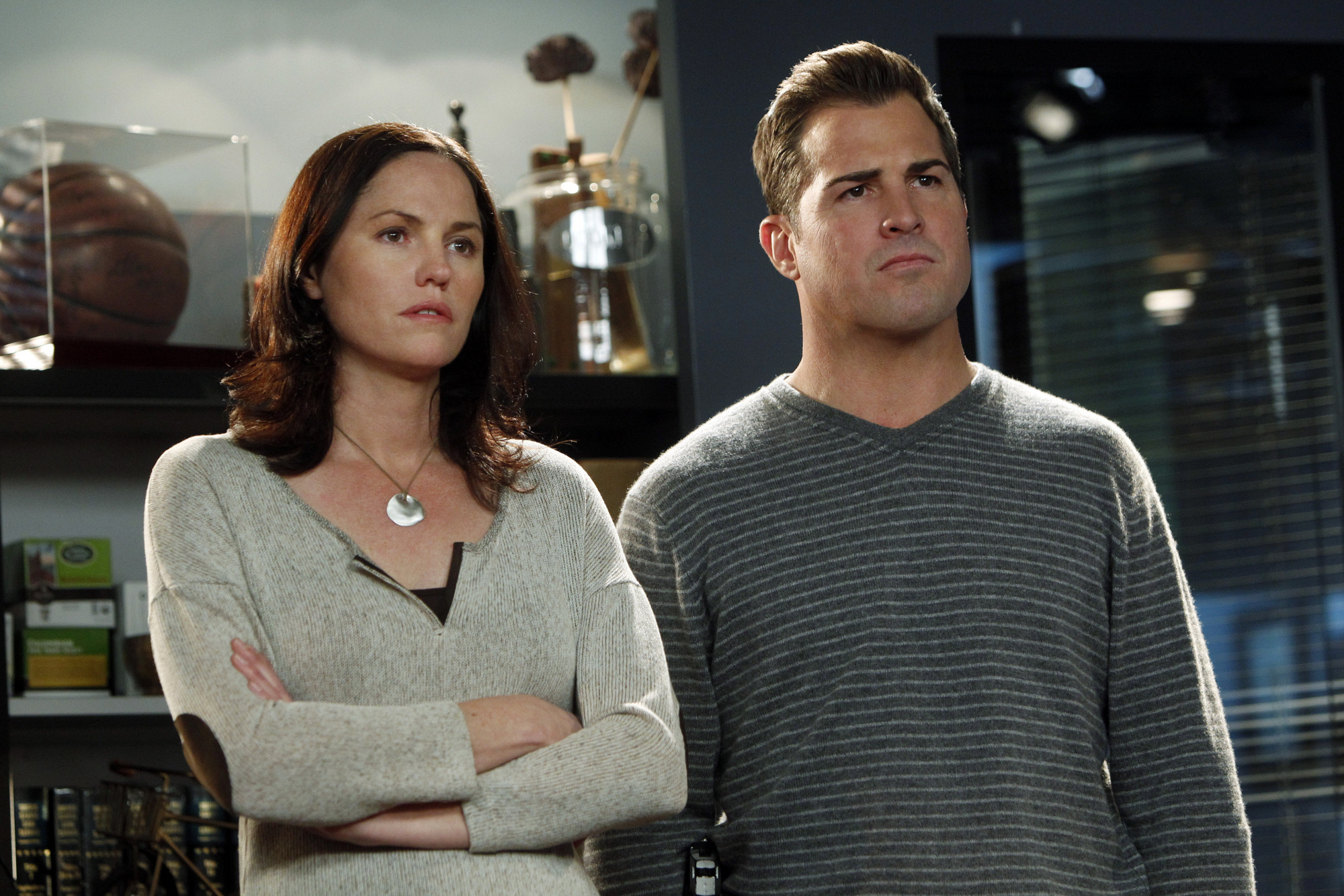 """George Eads as Nick Stokes in """"Willows in the Wind"""""""
