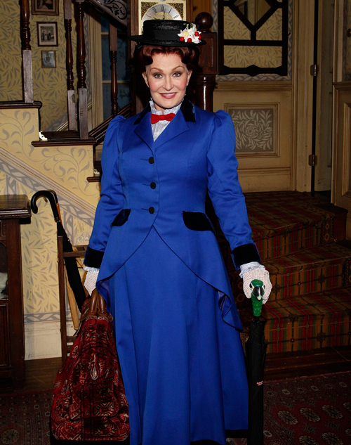 Sharon Osbourne as Mary Poppins
