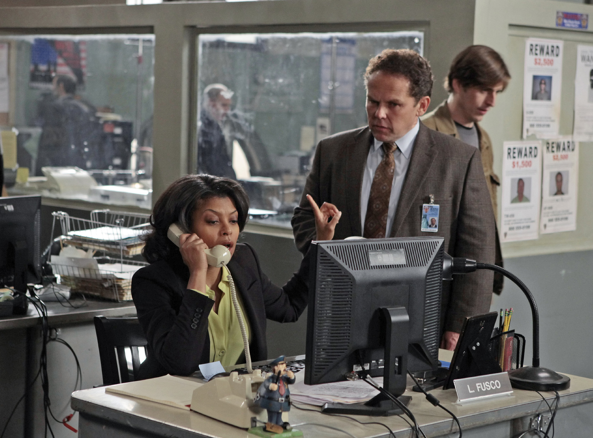 Detectives Carter and Fusco