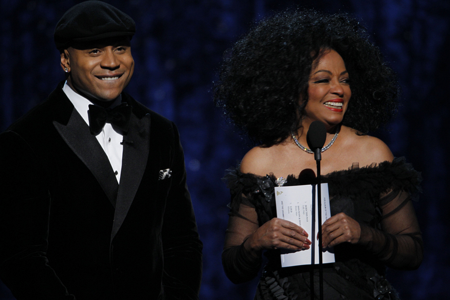 LL Cool J and Diana Ross