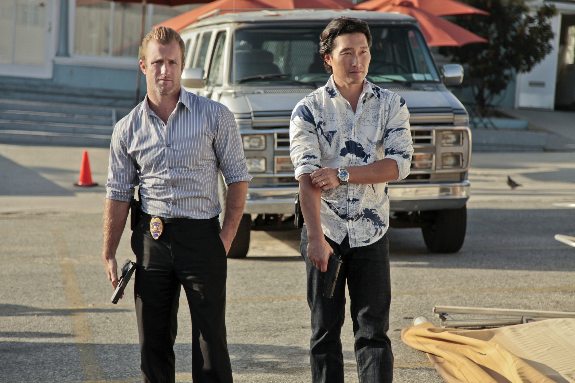 Part of the Hawaii Five-0 team