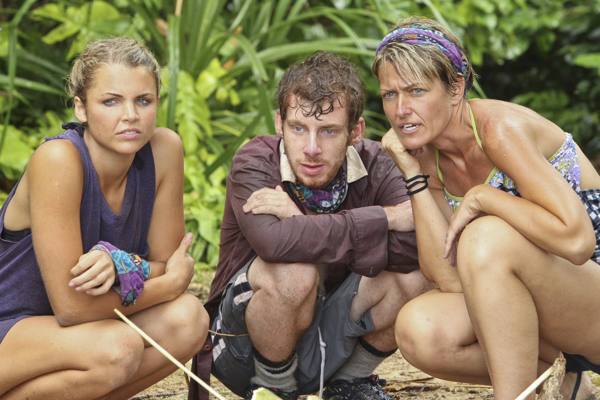 "Andrea, Cochran and Dawn in ""Kill or Be Killed"" Episode 4 of Season 26"