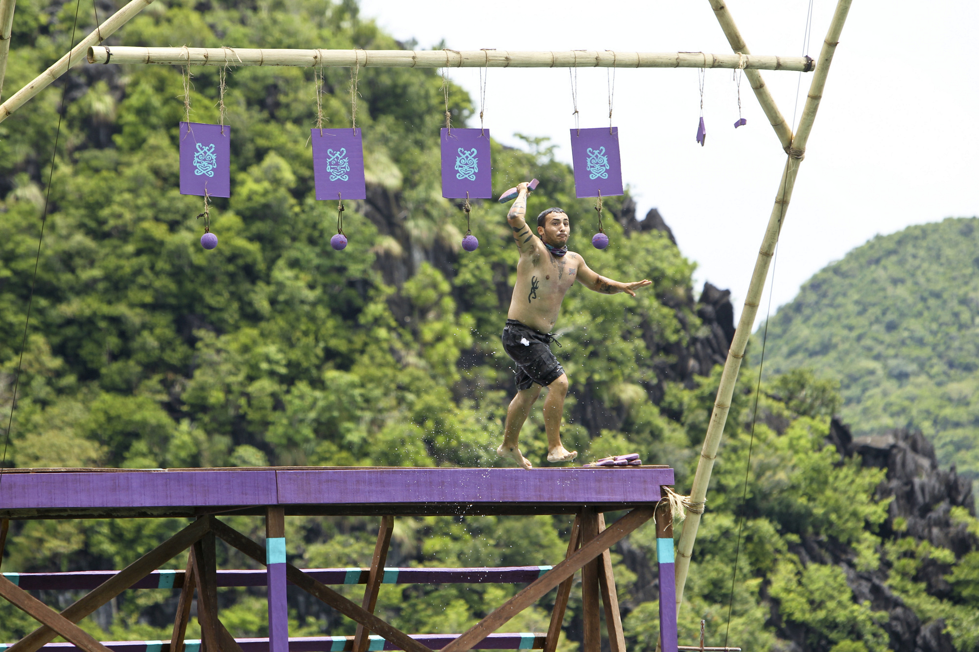 "Brandon competes in ""Kill or Be Killed"" Episode 4 of Season 26"