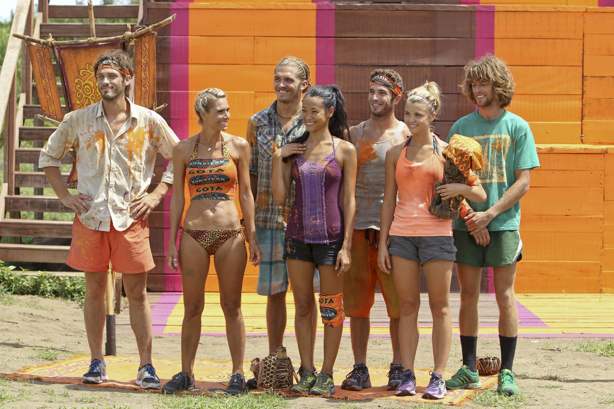 "The new Gota tribe in ""Operation Thunder Dome"" Episode 6 of Season 26"