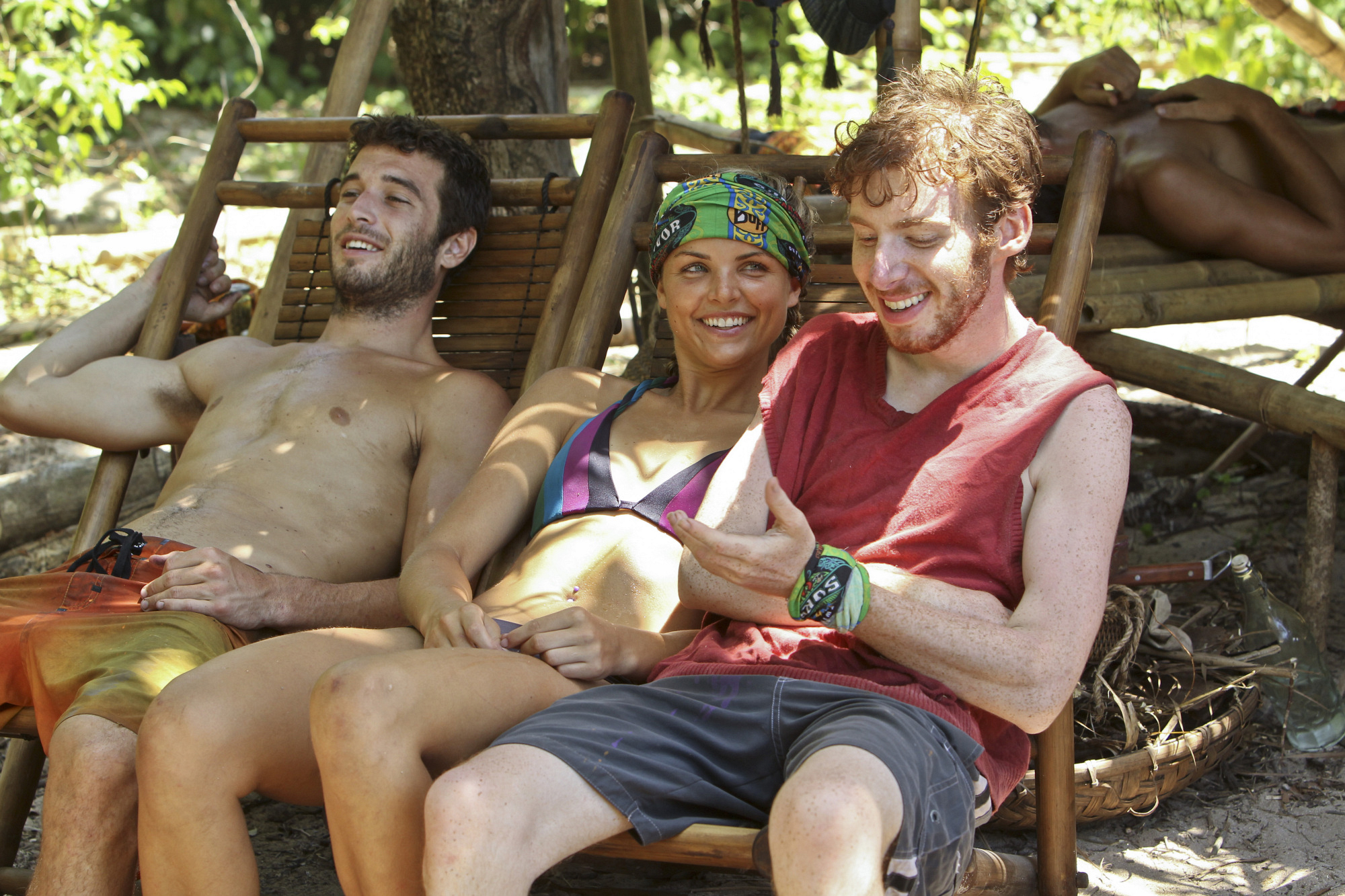 "Eddie, Andrea and Cochran in ""Blindside Time"" Episode 8 of Season 26"