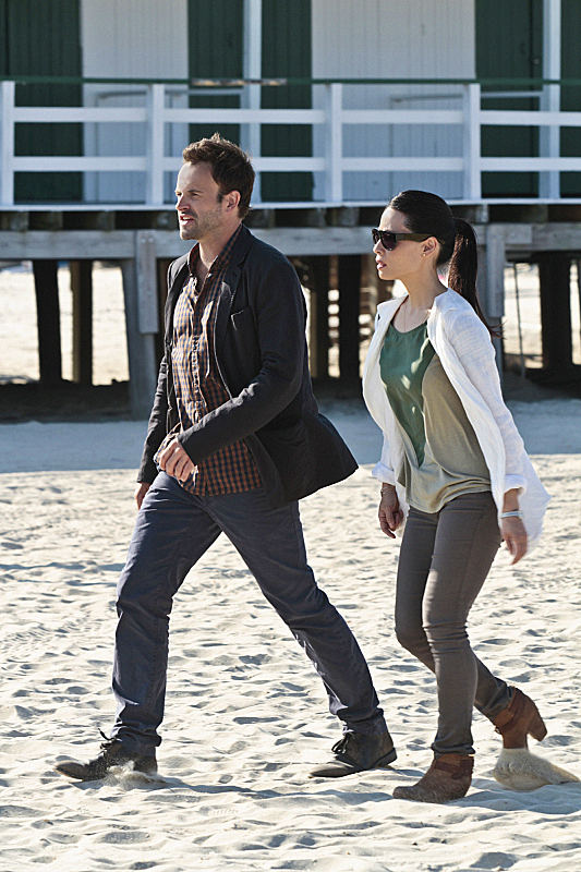Watson and Joan On the Beach