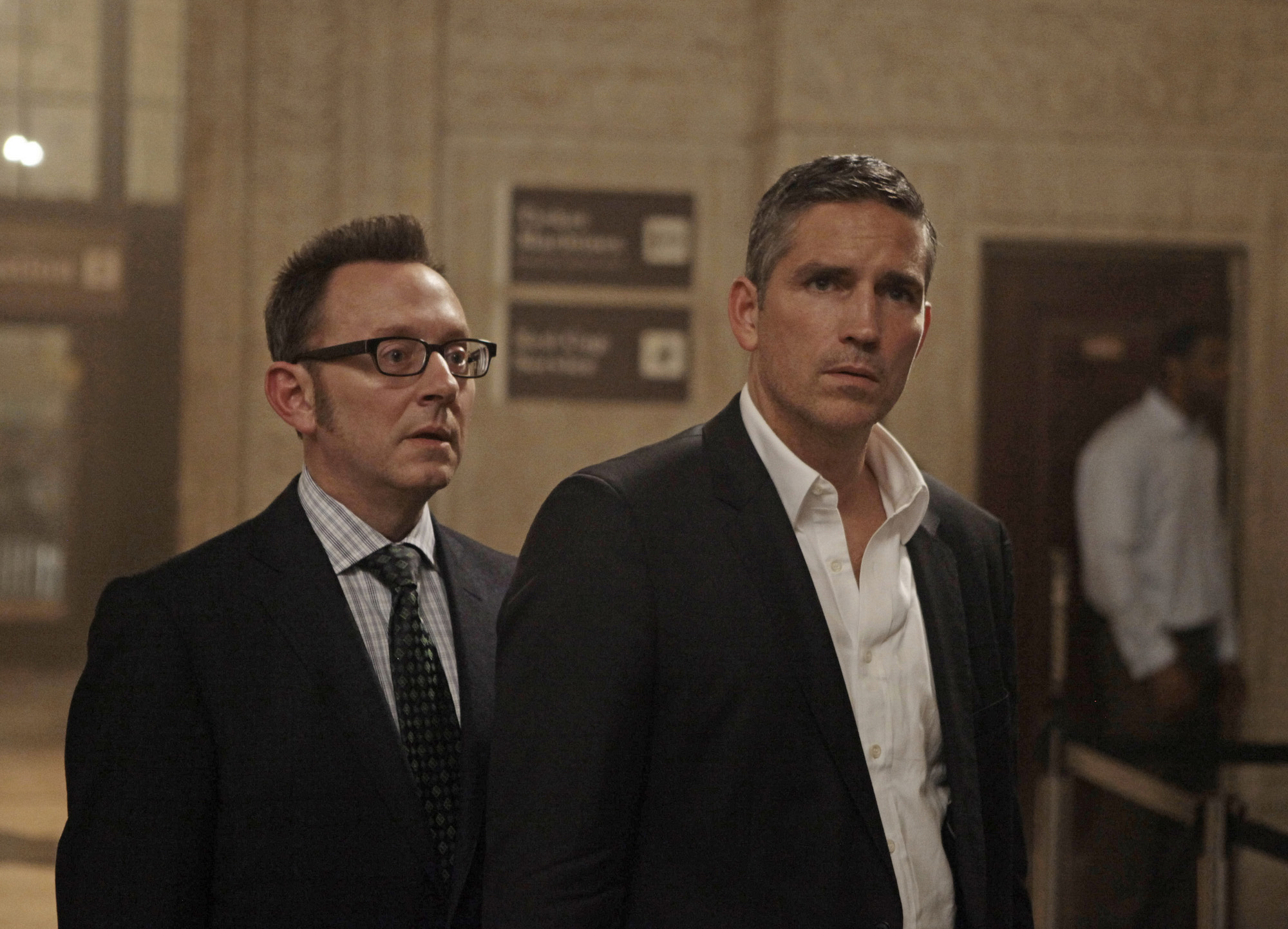 Finch and Reese Work Together