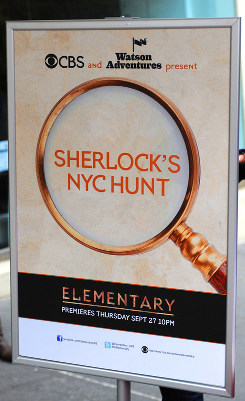 Sherlock's NYC Hunt