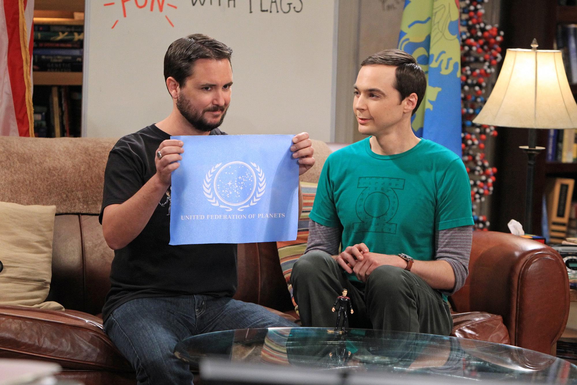 Wil Wheaton & Sheldon