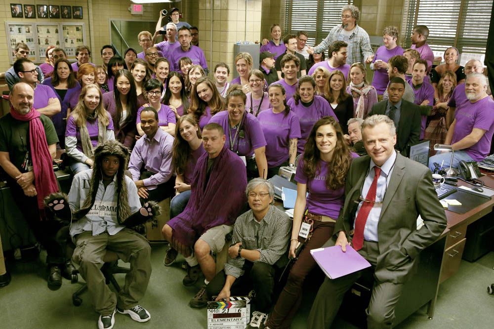 Elementary Cast and Crew Members Participate in Spirit Day