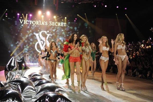 Models walk the runway at The Victoria's Secret Fashion Show