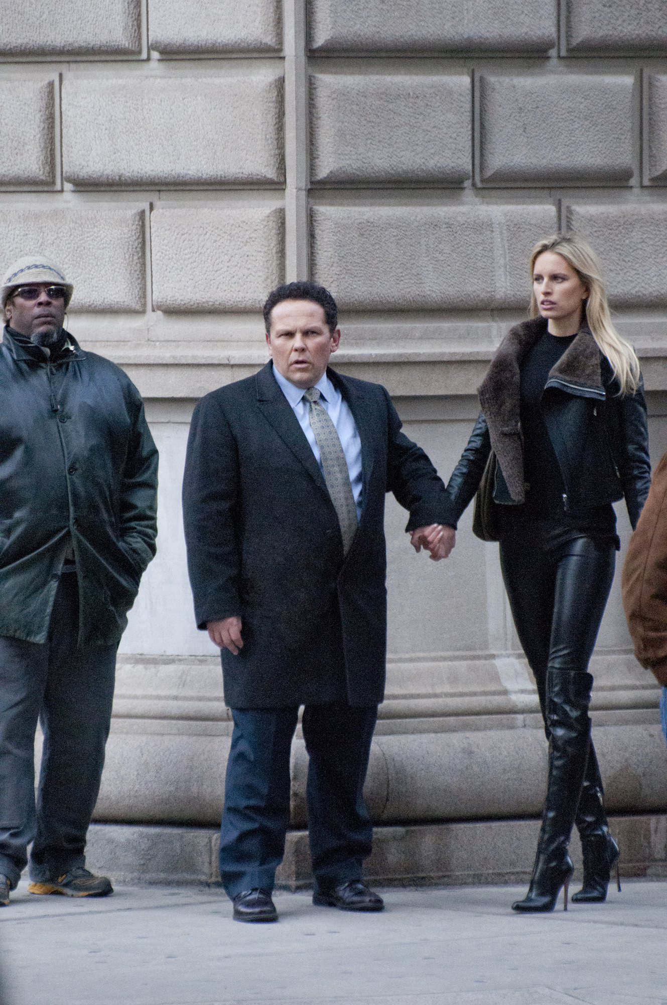 Detective Fusco with Karolina Kurkova