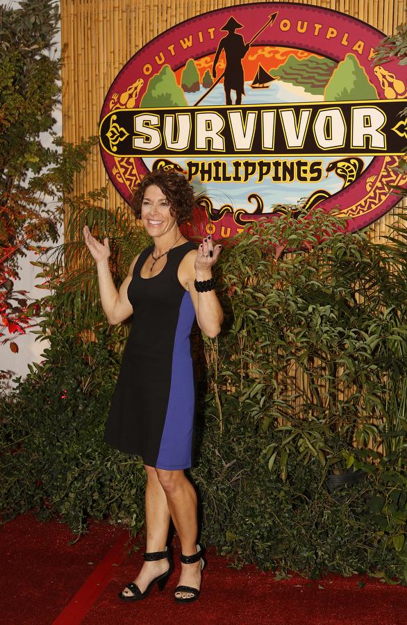 Winner Denise on the Red Carpet