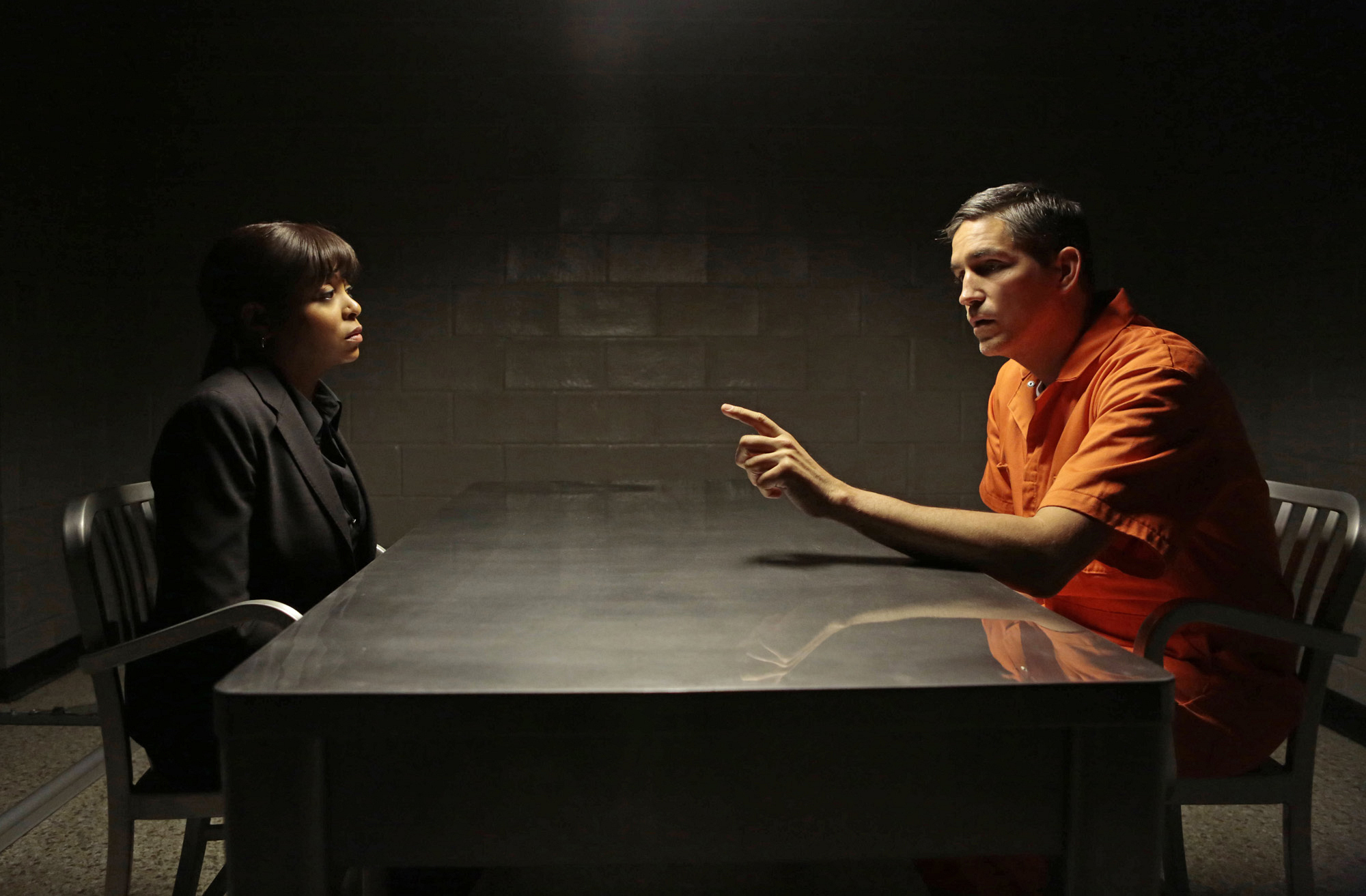Carter Interrogates Reese