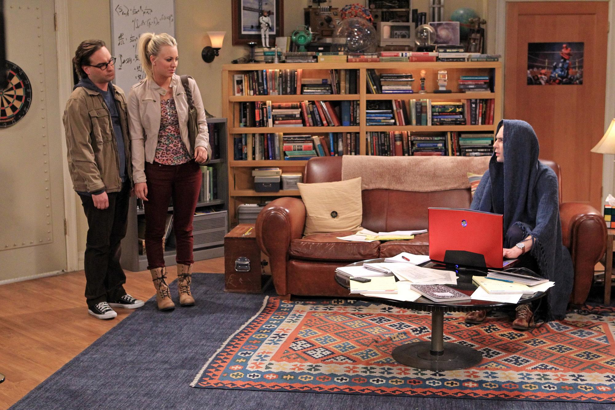 Leonard, Penny & Sheldon