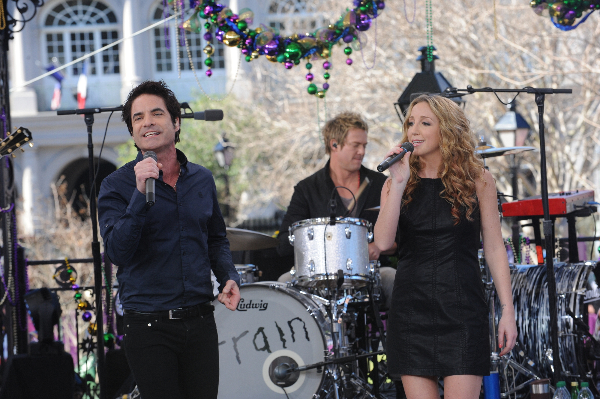 Train and Ashley Monroe