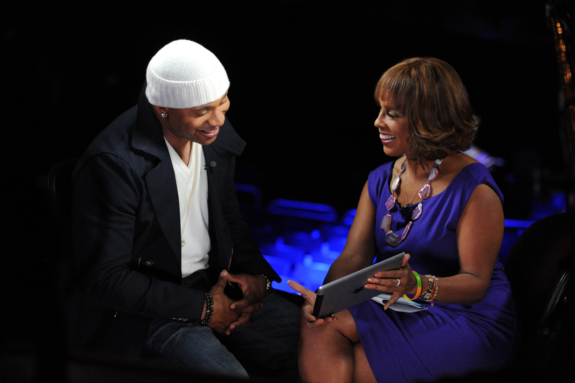 LL Cool J with Gayle King