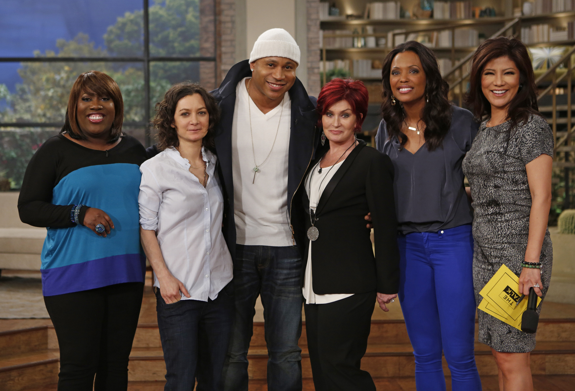 L.L. Cool J on The Talk