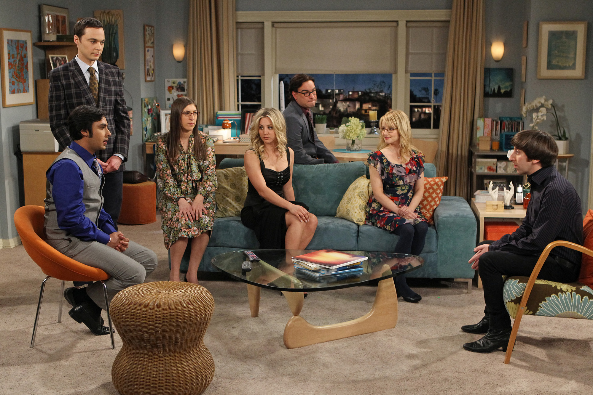 "The gang in ""The Closet Reconfiguration"" Episode 19 of Season 6"