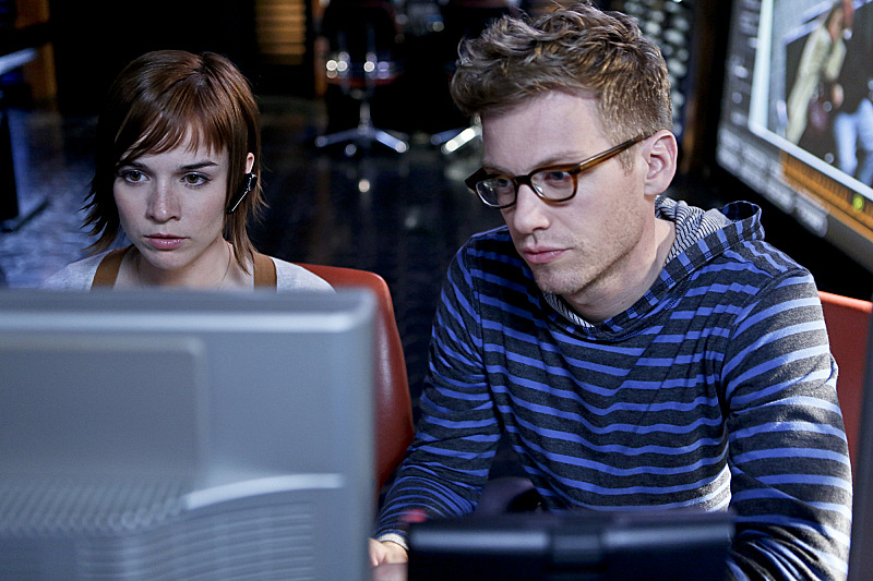 Nell Jones and Eric Beale - <i>NCIS: Los Angeles</i>
