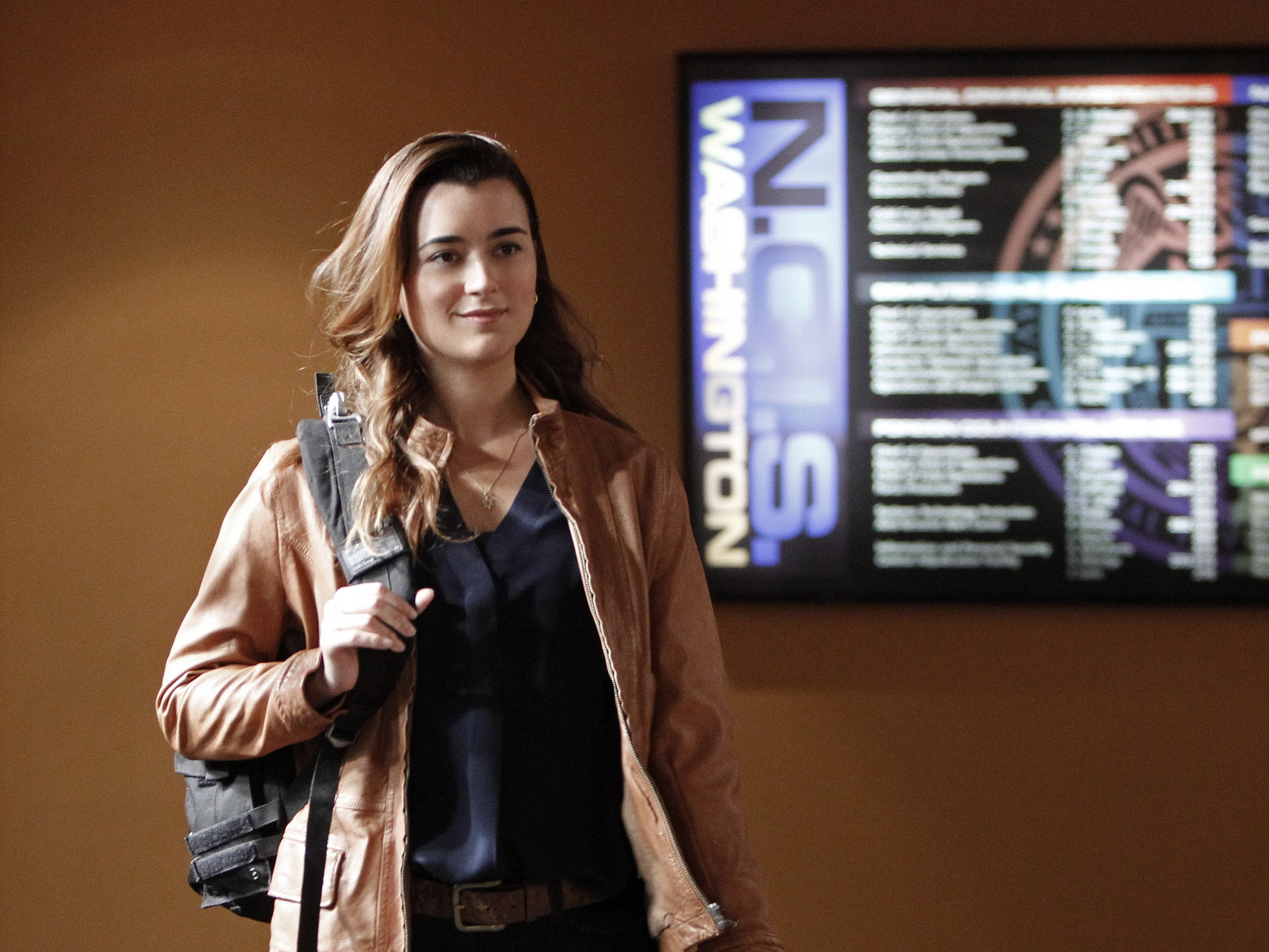 "Ziva in ""Squall"" Episode 19 of Season 10"