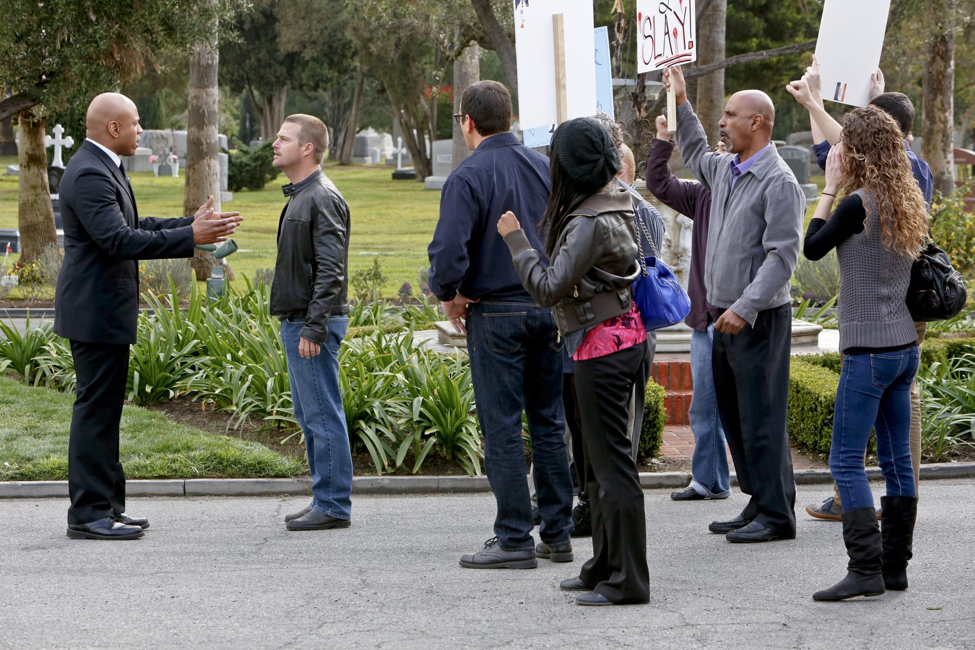"Protest in ""Purity"" Episode 20 of Season 4"