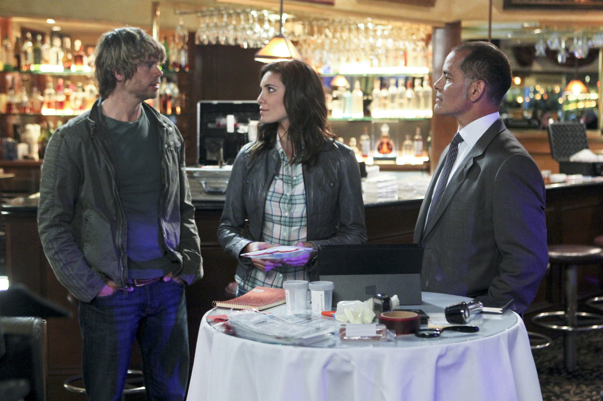 """Table Service in """"Purity"""" Episode 20 of Season 4"""
