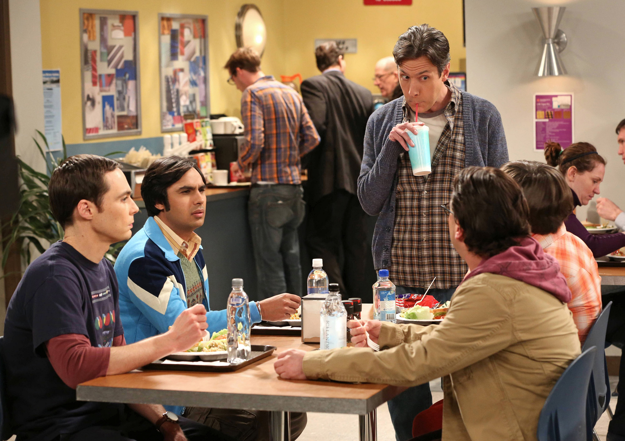 "Lunchtime in ""The Tenure Turbulence"" in Episode 20 of Season 6"