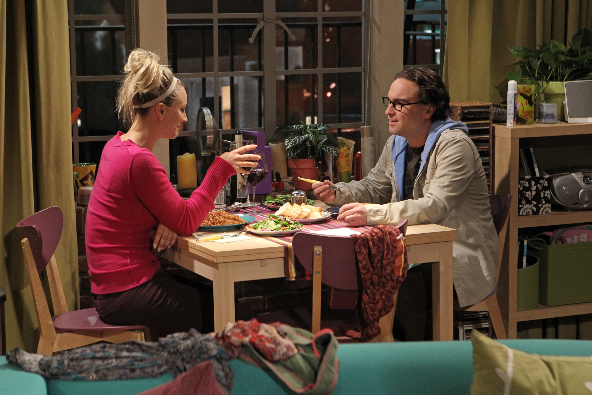 "Dinner date in ""The Closure Alternative"", Episode 21 of Season 6"