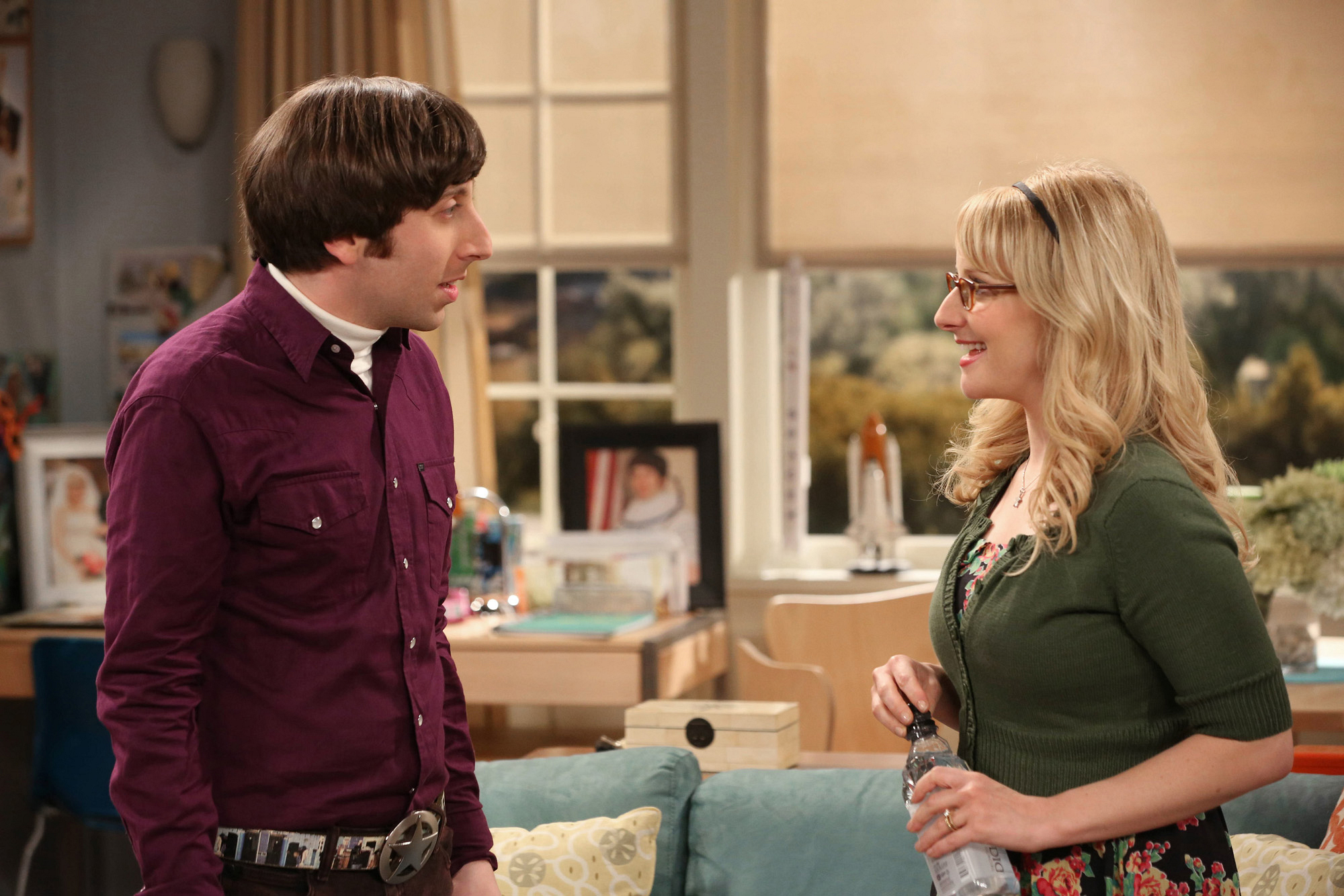 "The Wolowitz's in ""The Proton Resurgence"" Episode 22 of Season 6"
