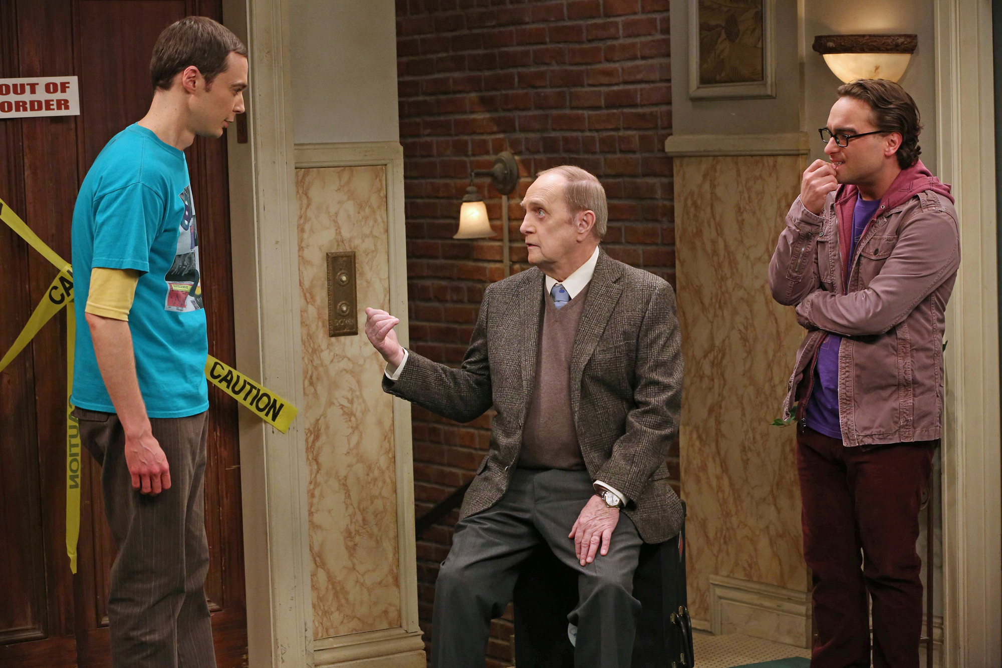 "Sheldon, Leonard & Professor Proton in ""The Proton Resurgence"" Episode 22 of Season 6"