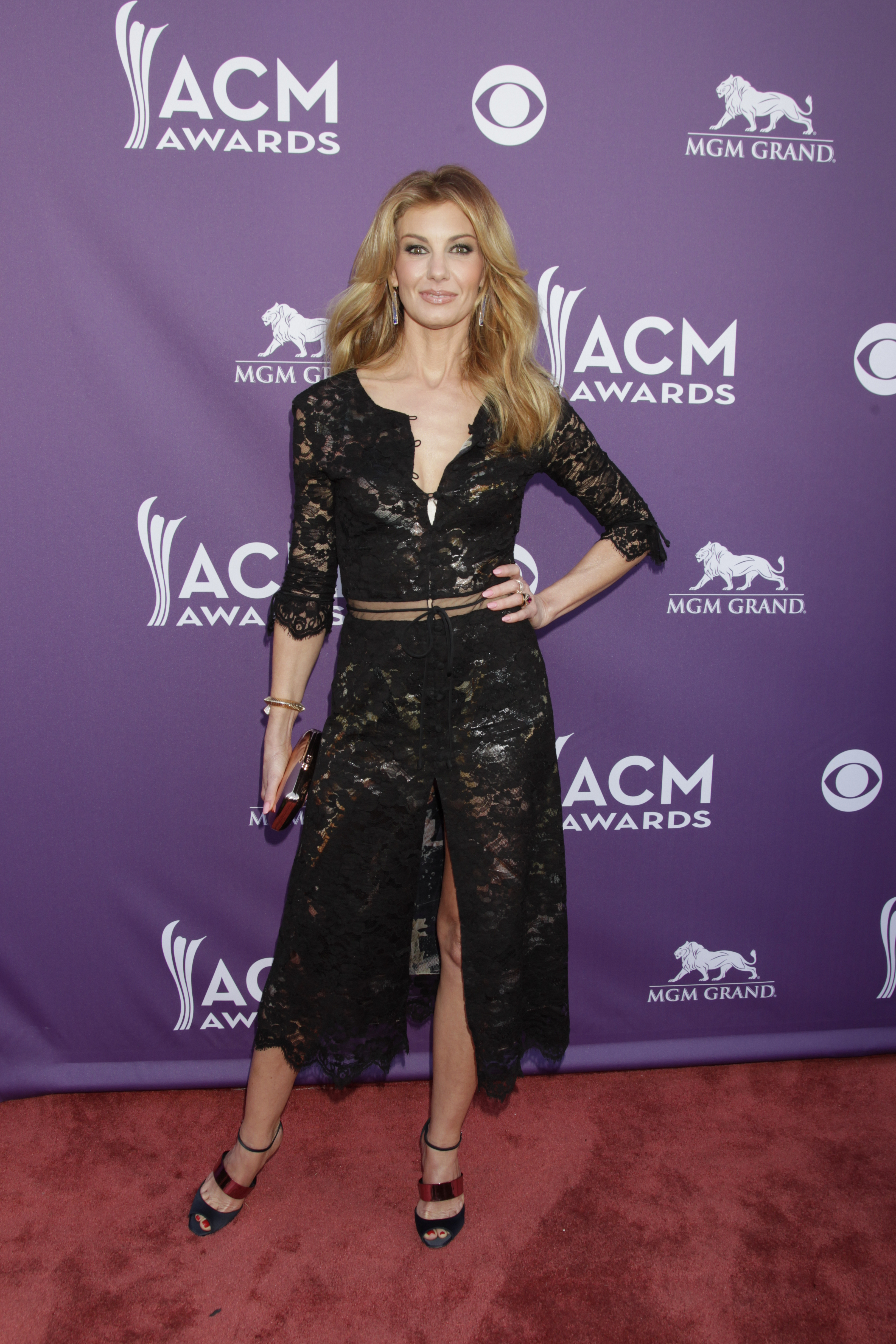 Faith Hill on the Red Carpet - 48th ACM Awards