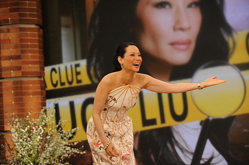 The beautiful Lucy Liu