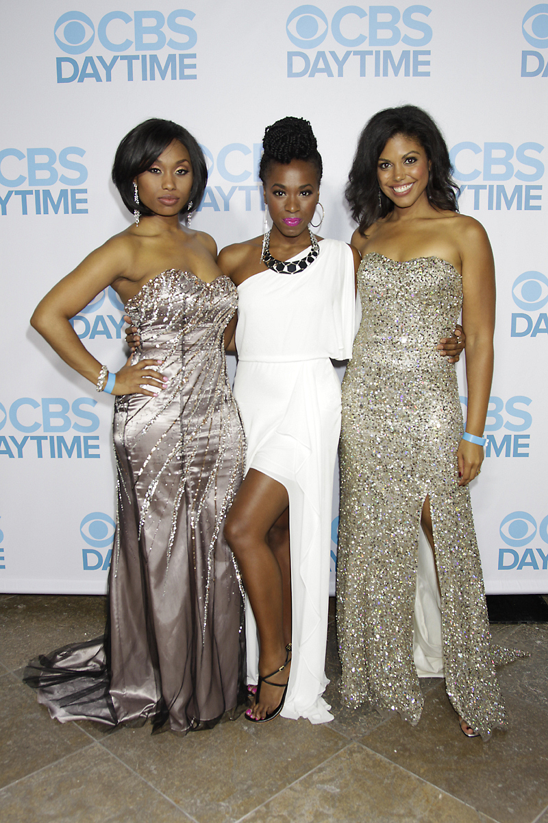 Y&R's Angell Conwell and B&B's Kristolyn Lloyd and Karla Mosley