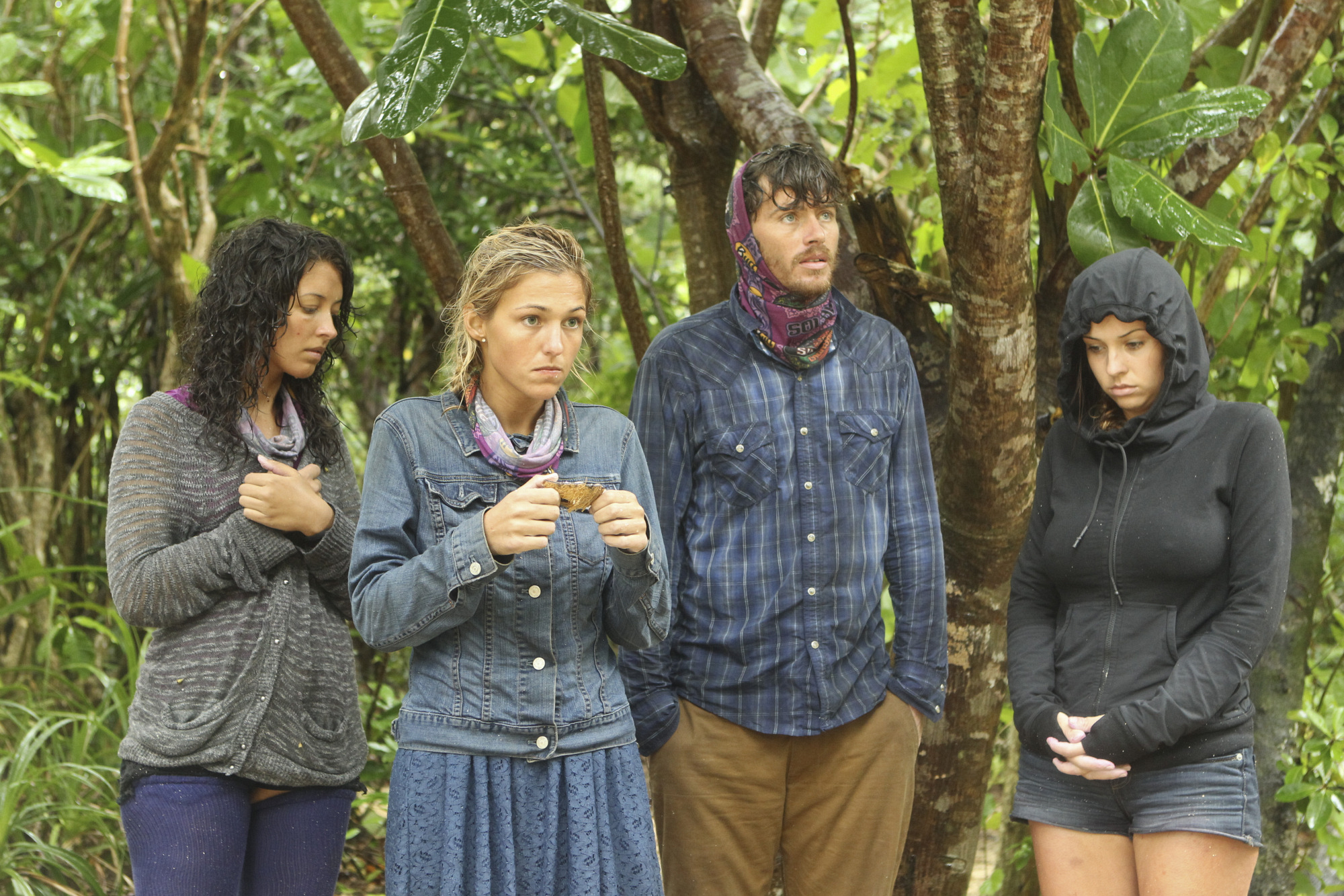 Alexis, Jefra, Jeremiah and Moragn in Episode 2 Season 28
