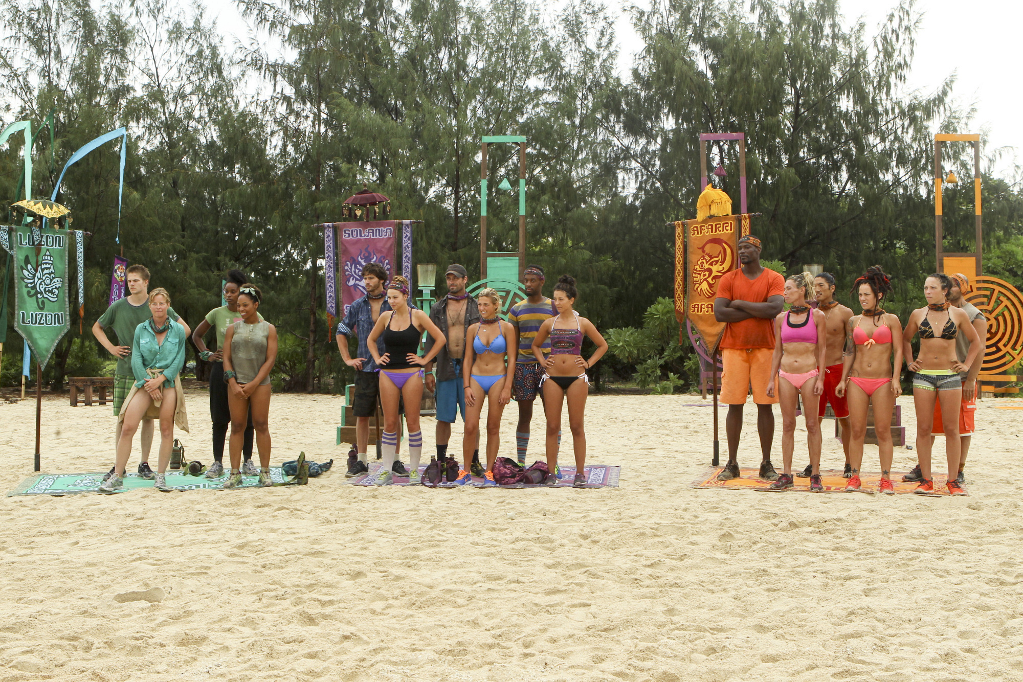 Survivor: Cagayan cast in Episode 2 Season 28