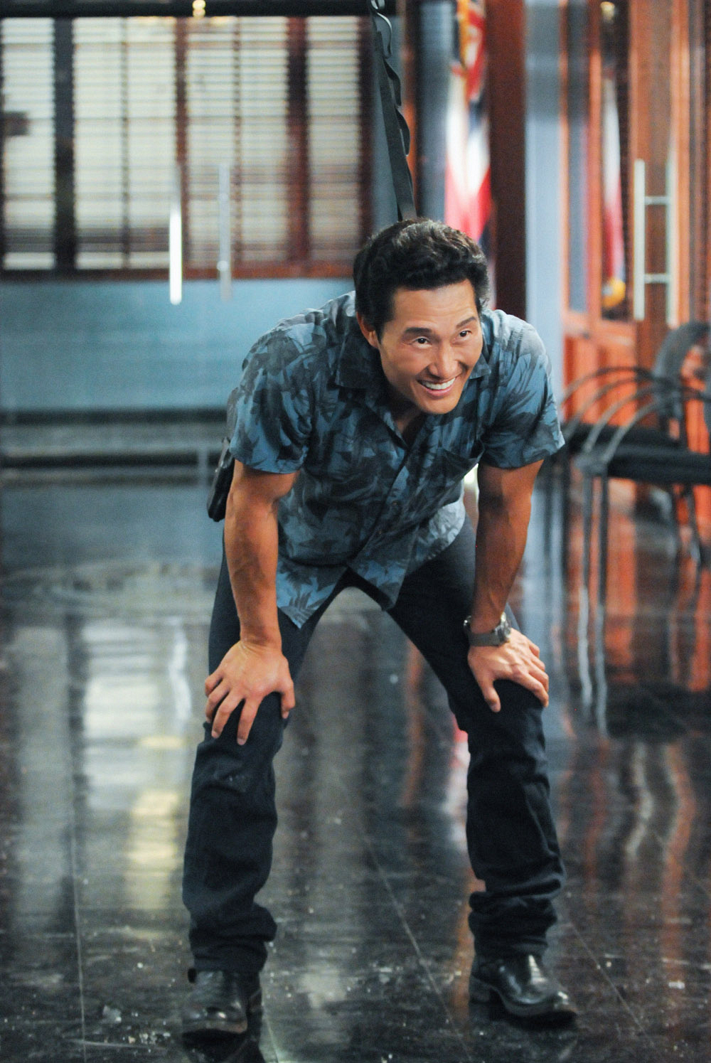 Chin Ho Behind the Scenes in the Season Premiere of Hawaii Five-0