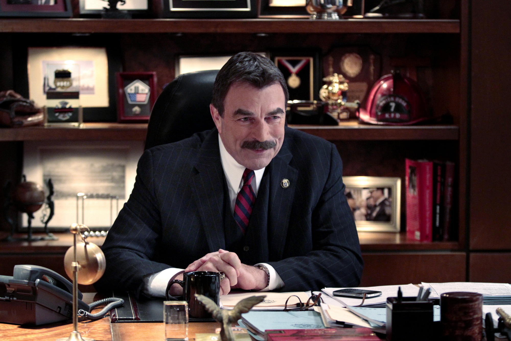 Tom Selleck Is NYC Police Commissioner Frank Reagan