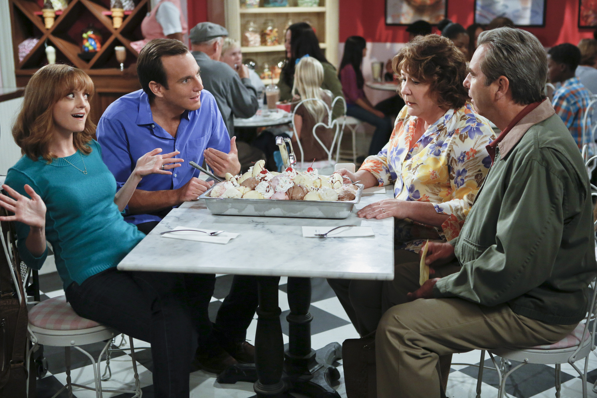 3. Nathan, Debbie, Carol and Tom - The Millers