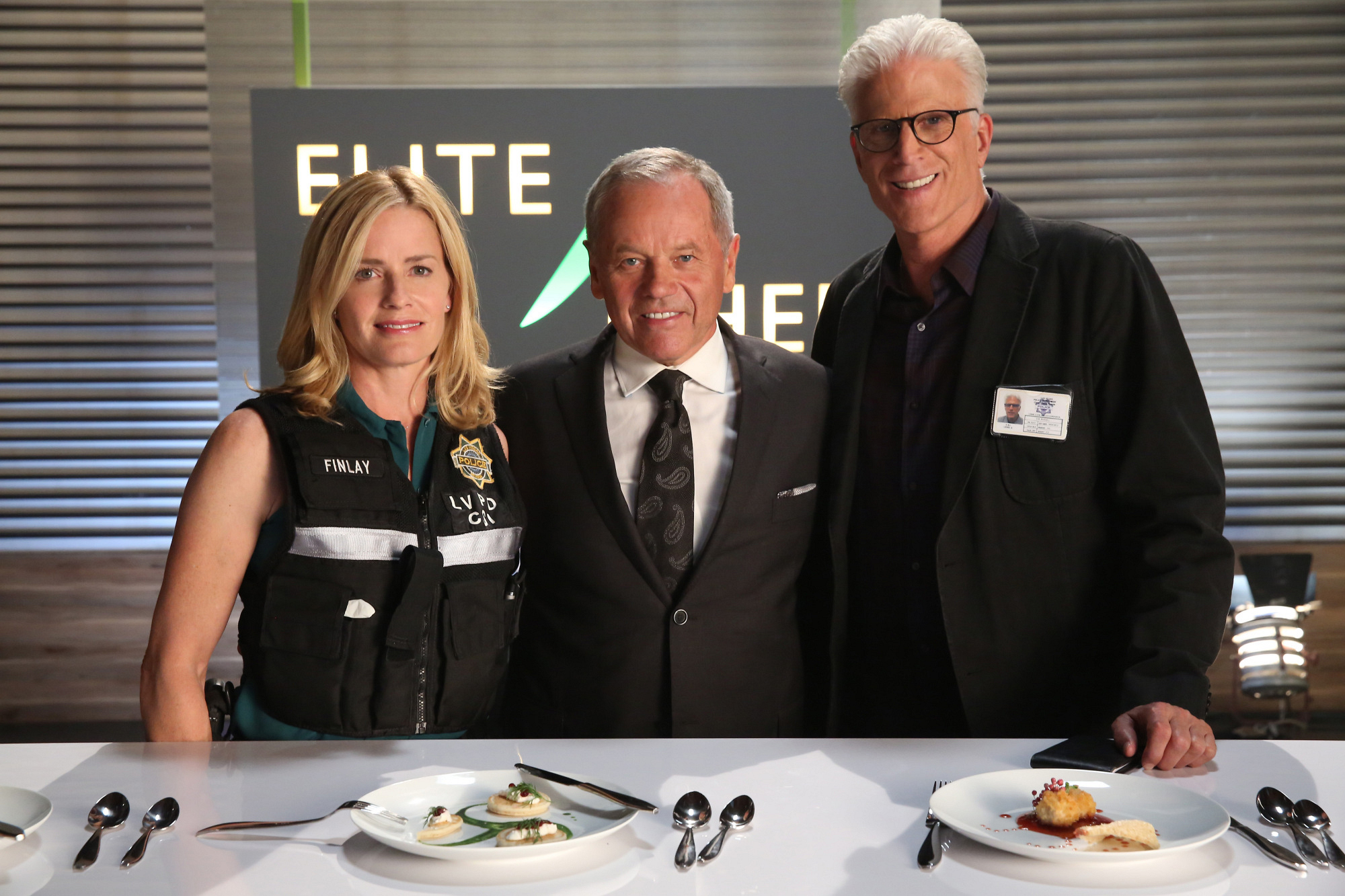 "With Wolfgang Puck in ""Last Supper"" Season 14 Episode 4"